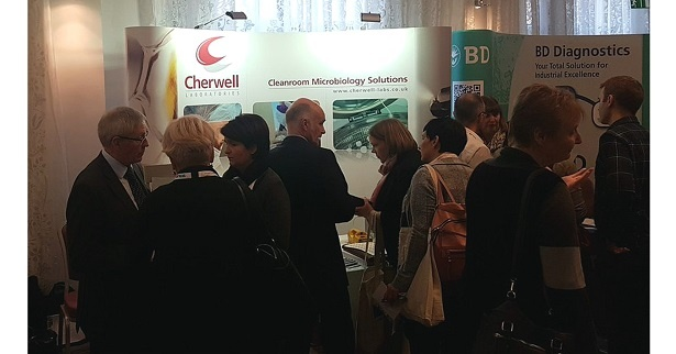 Cherwell Laboratories Stand at Pharmig Nov 2017.jpg