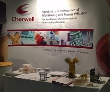 Cherwell Laboratories stand at Pharmig 2015