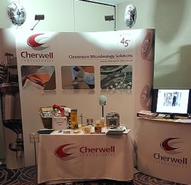 Cherwell Laboratories stand at Pharmig 2016 annual conference
