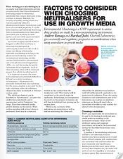 neutralisers in growth media