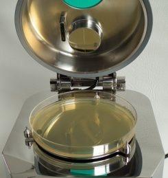 ImpactAir 140mm agar plate