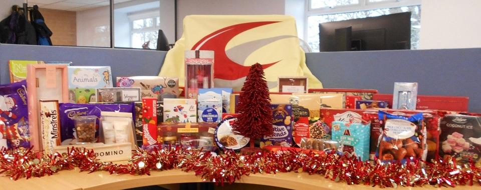 Christmas 2018 donations to Bicester Foodbank
