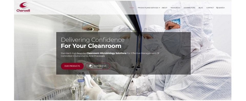 Cherwell Announces New Cleanroom Microbiology Focused Website Launch
